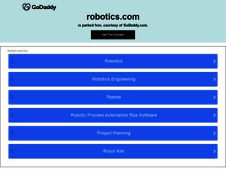 robotics.com screenshot