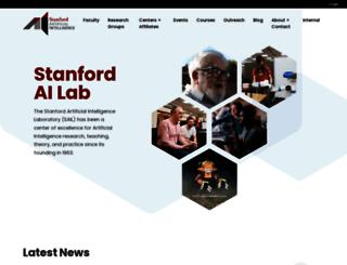 robotics.stanford.edu screenshot