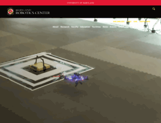 robotics.umd.edu screenshot