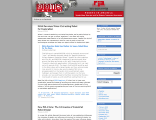roboticsonline.wordpress.com screenshot
