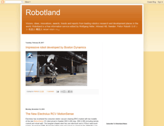 robotland.blogspot.com screenshot