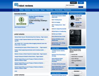 robotreviews.com screenshot