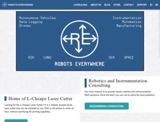 robots-everywhere.com screenshot