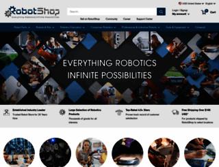 robotshop.com screenshot