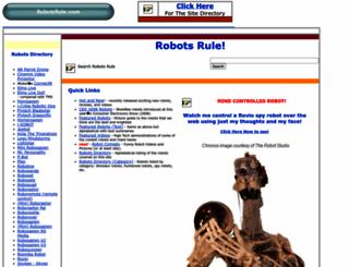 robotsrule.com screenshot