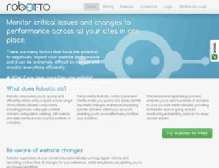 robotto.semetrical.com screenshot
