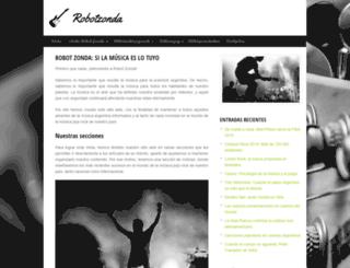 robotzonda.com.ar screenshot