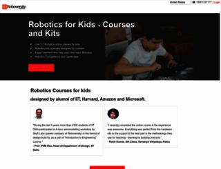 roboversity.com screenshot