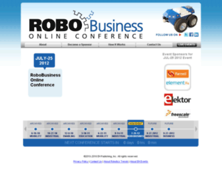 robovirtualevents.com screenshot