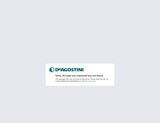 robozak.deagostini.it screenshot