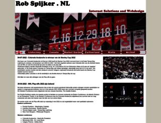 robspijker.nl screenshot