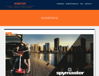 robstep.co.uk screenshot