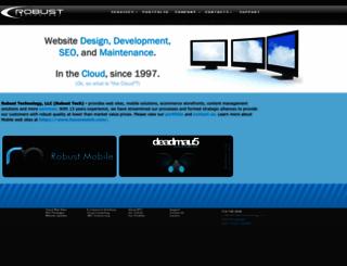 robusttech.com screenshot