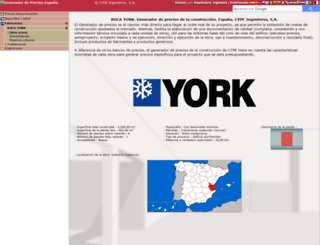 roca-york.generadordeprecios.info screenshot