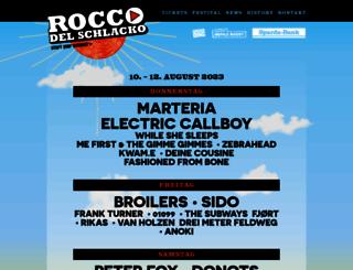 rocco-del-schlacko.de screenshot