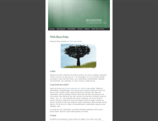rochester.wordpress.com screenshot