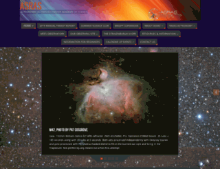 rochesterastronomy.org screenshot