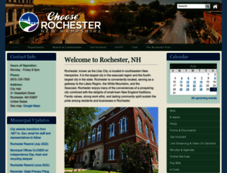 rochesternh.net screenshot