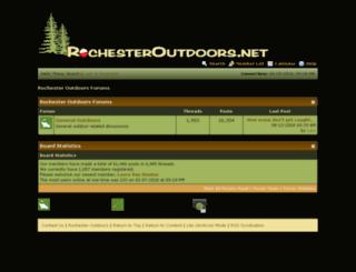 rochesteroutdoors.net screenshot