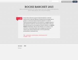 rochii-banchet.tumblr.com screenshot