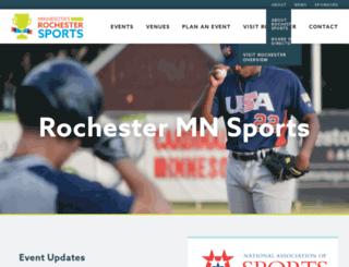 rochsports.org screenshot