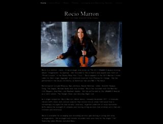 rociomarron.com screenshot