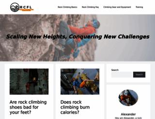 rock-climbing-for-life.com screenshot