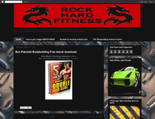 rock-hard-fitness.blogspot.co.uk screenshot