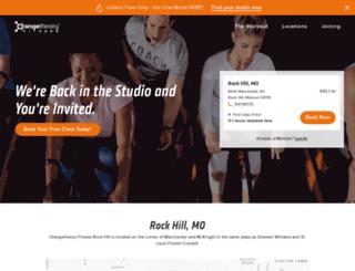 rock-hill.orangetheoryfitness.com screenshot