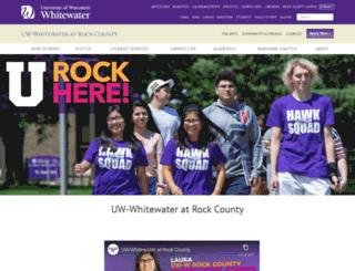 rock.uwc.edu screenshot