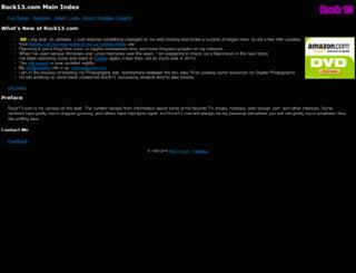 rock13.com screenshot