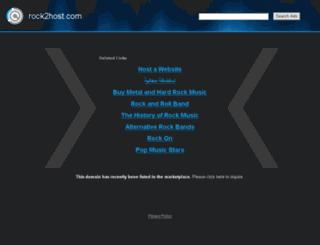 rock2host.com screenshot