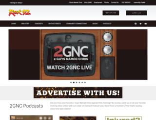 rock92.com screenshot