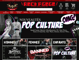 rockagogo.com screenshot