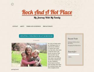 rockandahotplace.com screenshot