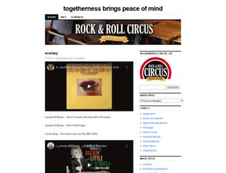 rockandrollcircus.wordpress.com screenshot