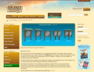 rockartsigns.com screenshot