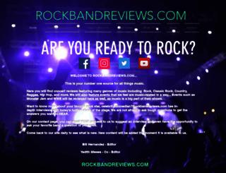 rockbandreviews.com screenshot