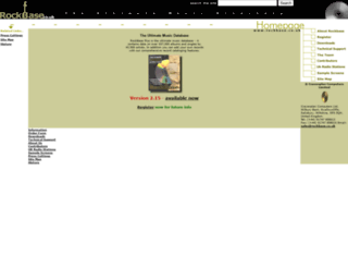 rockbase.co.uk screenshot