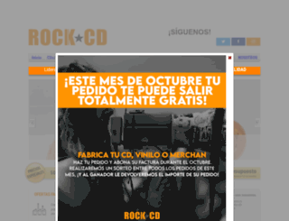 rockcd.es screenshot