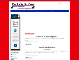 rockchalk.com screenshot