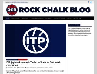 rockchalkblog.com screenshot