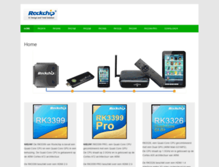 rockchip.nl screenshot