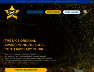 rockchoir.com screenshot