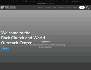 rockchurch.com screenshot