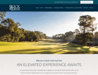 rockcreekgolf.com screenshot