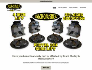 rockcrusherllc.com screenshot