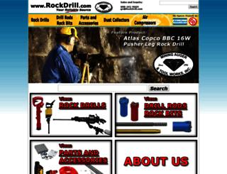 rockdrill.com screenshot