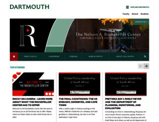 rockefeller.dartmouth.edu screenshot