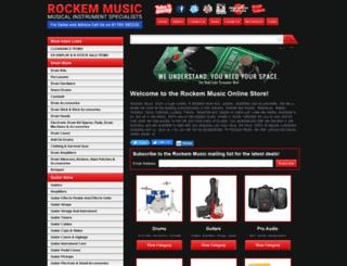 rockemmusic.com screenshot